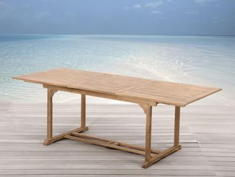 BELIANI - tables en bois - Table De Jardin