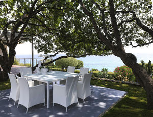 ITALY DREAM DESIGN - sense - carré - Table De Jardin