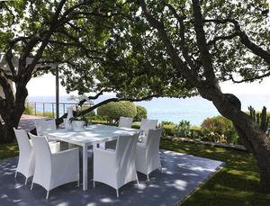 ITALY DREAM DESIGN - sense - carré - Table De Jardin