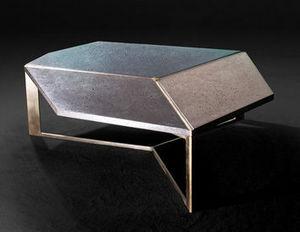 MALHERBE EDITION - table basse facet - Table Basse Forme Originale