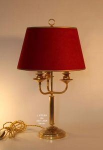 L'ATELIER DES ABAT-JOUR -  - Lampe Bouillotte