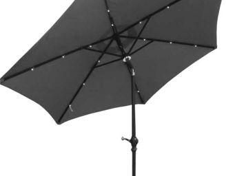 Imagin - parasol 2m70 avec eclairage solaire - Parasol
