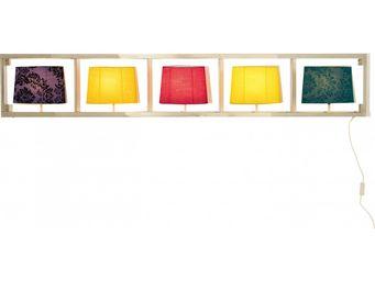 Kare Design - applique parecchi horizontal chrome - Applique