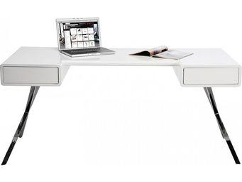 Kare Design - bureau avec rangements insider 160x75 cm - Bureau