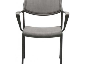 Kare Design - chaise avec accoudoirs terra - Chaise