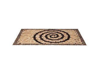 Kare Design - tapis en cuir meander 170x240cm - Tapis Contemporain