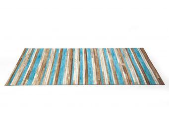 Kare Design - tapis design stripes aqua 170x240 - Tapis Contemporain