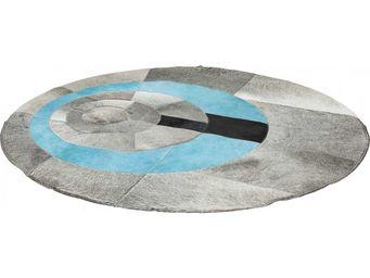 Kare Design - tapis rond art circles 150 cm - Tapis Contemporain