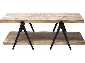 Kare Design - table basse en bois scissors 120x65cm - Table Basse Forme Originale