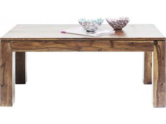 Kare Design - table basse en bois authentico 100x55 cm - Table Basse Rectangulaire