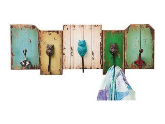 Kare Design - portemanteau mural owl - Patère