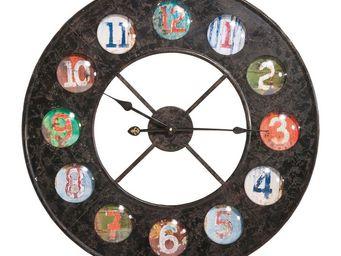 Kare Design - horloge vintage colour 70 - Horloge Murale