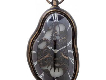 Kare Design - horloge flow antique - Horloge Murale