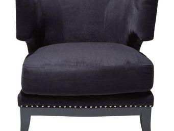 Kare Design - fauteuil art deco noir - Fauteuil