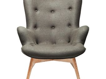 Kare Design - fauteuil retro angels wings vert kaki - Fauteuil