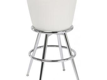 Kare Design - tabouret de bar lady rock blanc - Tabouret De Bar