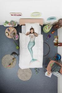 SNURK - mermaid - Parure De Lit Enfant