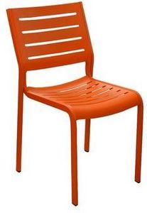 PROLOISIRS - chaise de jardin design belhara (mandarine) mandar - Chaise De Jardin