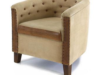 ZAGO - fauteuil capitonné montecristo - Fauteuil