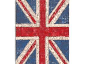 WHITE LABEL - tapis 180 x 120 cm - union jack - l 180 x l 120 -  - Tapis Contemporain