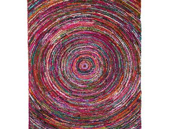 WHITE LABEL - tapis 230 x 160 cm - pulsar - l 230 x l 160 - coto - Tapis Contemporain