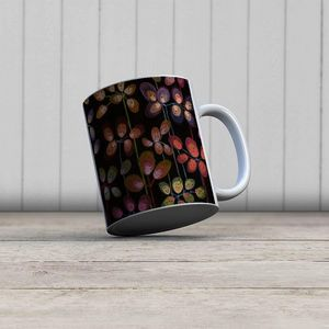 la Magie dans l'Image - mug beautiful flowers black - Mug