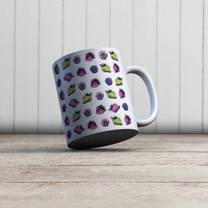 la Magie dans l'Image - mug fraies motif - Mug
