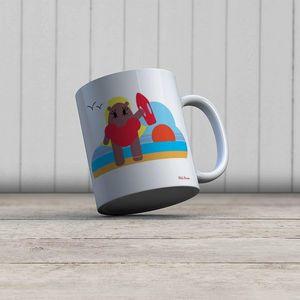 la Magie dans l'Image - mug héros alerte - Mug