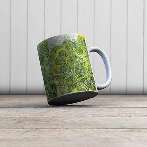 la Magie dans l'Image - mug hibiscus et roses - Mug