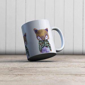 la Magie dans l'Image - mug mon petit renard vert - Mug