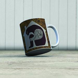 la Magie dans l'Image - mug ogre maison fond gris - Mug