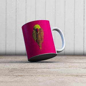 la Magie dans l'Image - mug perroquet rose - Mug