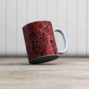 la Magie dans l'Image - mug plantes rouges - Mug