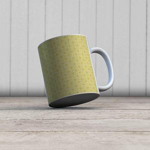 la Magie dans l'Image - mug trèfle jaune foncé - Mug