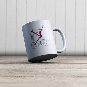 la Magie dans l'Image - mug un vélo - Mug