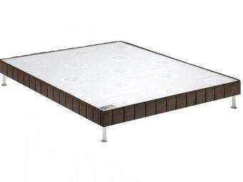 Bultex - bultex sommier tapissier confort ferme vison 130* - Sommier Fixe À Ressorts