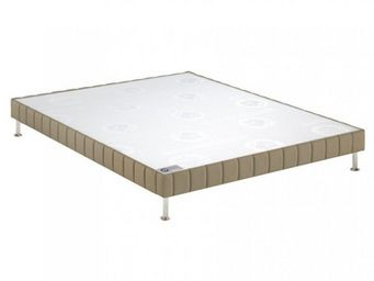 Bultex - bultex sommier double tapissier confort ferme tis - Sommier Fixe À Ressorts