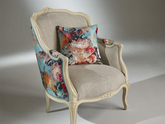 robin des bois - fauteuil victor botanique - Bergère