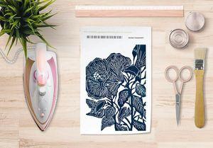 la Magie dans l'Image - papier transfert hibiscus - Transfert