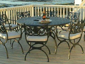 Oxley's - artemis - Table De Jardin Ronde