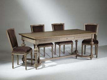 Robin des bois - orleans - Table De Repas Rectangulaire