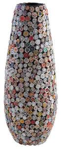 Aubry-Gaspard - vase ogive en papier recyclé - Vase À Fleurs