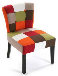 VERSA - fauteuil patchwork vitaminé - Fauteuil