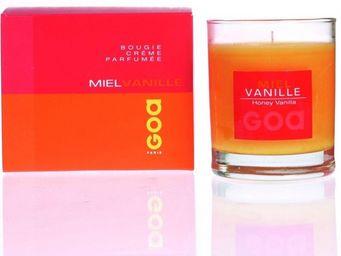CLEM - bougie crème goa miel vanille - Bougie Parfumée