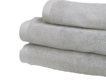 Liou - serviette de bain gris perle - Serviette De Toilette