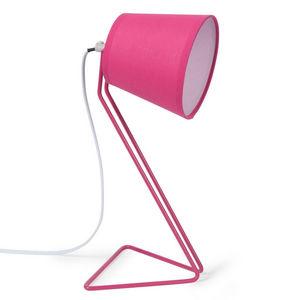 Maisons du monde - lampe ros - Lampe À Poser