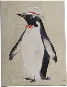 Amadeus - toile pingouin fun - Tableau Décoratif