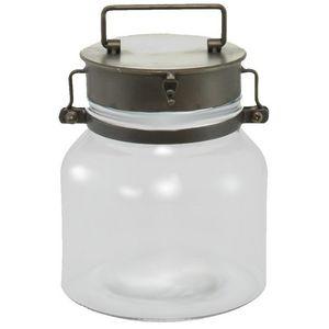 CHEMIN DE CAMPAGNE - bonbonnière bocal en verre et fer - Bonbonnière