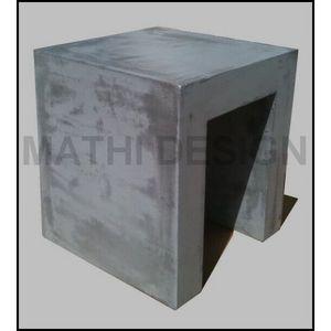 Mathi Design - tabouret beton u - Tabouret