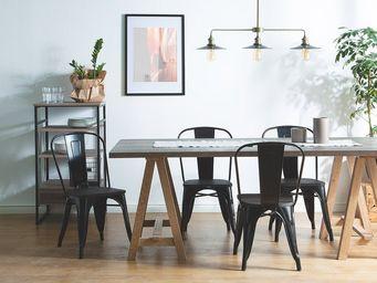 BELIANI - chaise de salle à manger - Chaise